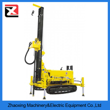 100m cheap mobile deep water well drilling rig