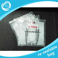 resealable frozen plastic bag for frozen chicken strips / breast packaging