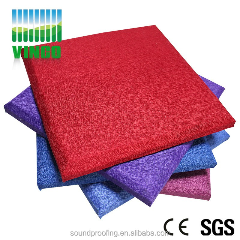 Superior fire-retardant fabric sound absorbing panels library auditor ceiling panel 3d wall panels design decoration
