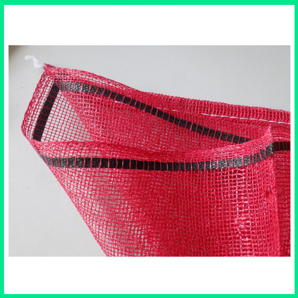 50lb red yellow onion potato fruit firewood packing mesh net leno bag wholesale