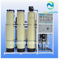 Industrial reverse osmosis water purification system 500 lph ro/large-scale water purifier storage tank