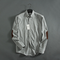High quality new design wholesale flannel shirt solid color plain flannels for men