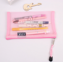 A4 A6 exam use transparent mesh organizer bags