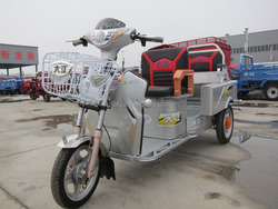 electric tricycle for passengers/3wheel tricycle for adult/ E rickshow E trike whith 48V500W differential motor