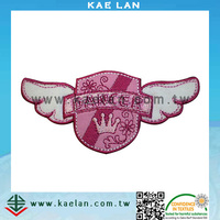 Chenille embroidery logo, wholesale customized logo patch