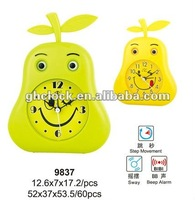 2013 Lovely Sway Cartoon Clock Toys For Kids