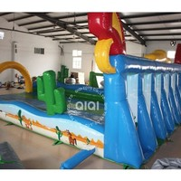 2018 hot sale inflatable horse racing interesting interactive games funny Inflatable game
