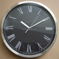 12inch promotional round metal wall clock(HA-1054)