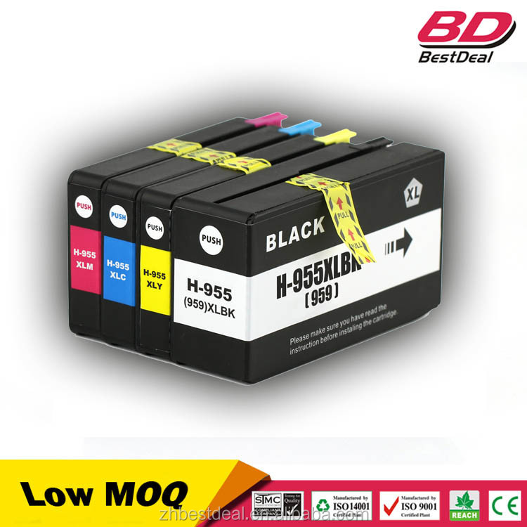 compatible ink cartridge for hp 955xl 959xl with high quality