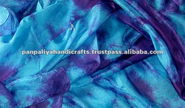 Premium quality, ultralight, 5MM Habotai Silk Veil for belly dance. Finished edges; hand-crafted in INDIA.