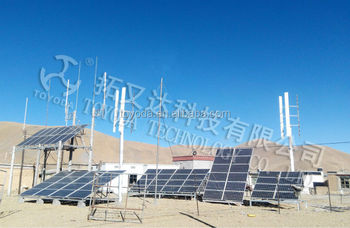 TOYODA wind solar hybrid power system