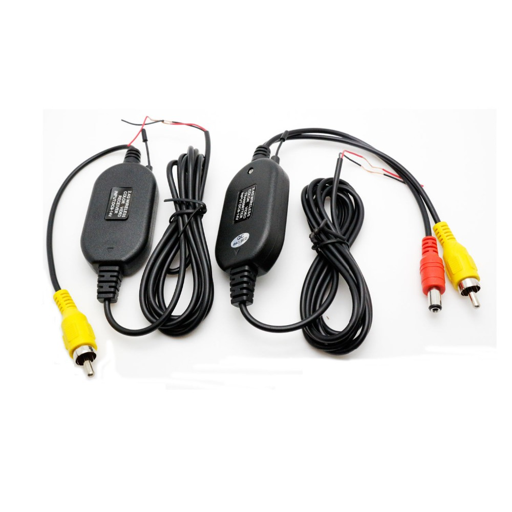 2.4G Wireless Color Video Transmitter and Receiver for Wireless Camera