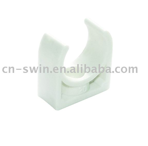 Ppr,pvc Pipe Fitting Plastic Clamp Clips(20-63mm)