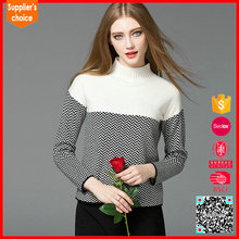 Factory Price Knit Woman Sweater, Wool Sweater Design For Women