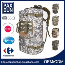 Camouflage Brand Waterproof Black Super Quality Hunt <strong>Backpack</strong>
