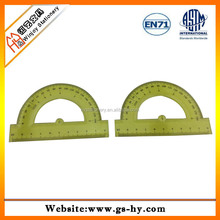 Teaching Set Plastic Triangle Protractor Ruler with Handle