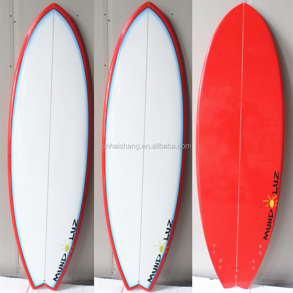 2015 New Arrival Fiberglass eps Core Soft top Surfboard