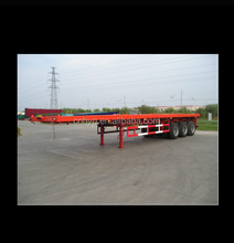 40FT flatbed semi trailer 3 axles customized semi trailer with ISO9001