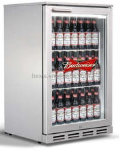 stainless steel back bar bottle cooler in height of 850mm model BBC-6S
