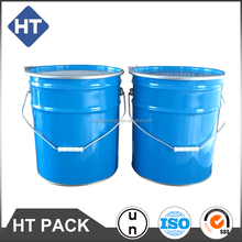 5 gallon metal pail for flexgraphic ink, un approved, 18L tinplate ink bucket to pack water based ink