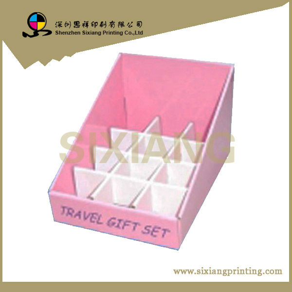 Retail store equipment cardboard cards wholesale display rack