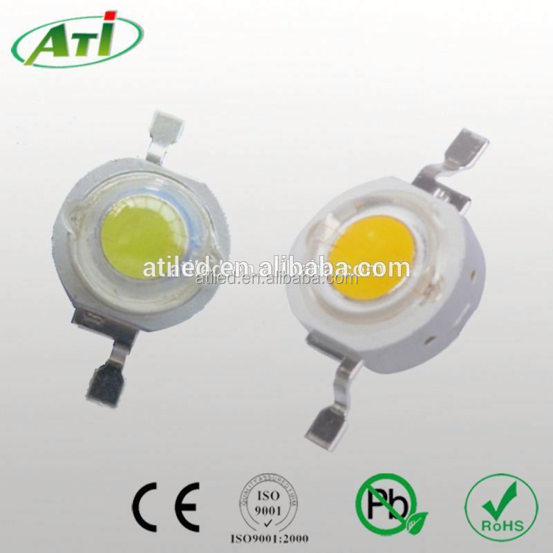 Stable quality 1w high power led 1w star led 3 years warranty