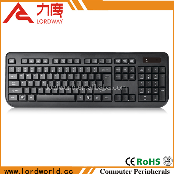 latest computer accessories usb 2.4ghz wireless arabic laptop keyboard for lenovo b560