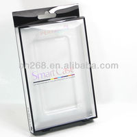 pvc box,box packaging for iphone 4,5 s/samsung galaxy 3s