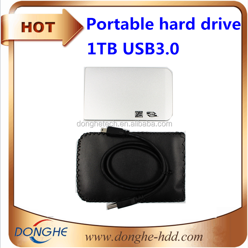 Customize logo external hard drive 1tb price USB3.0 2.5'' hdd for laptop/mobile