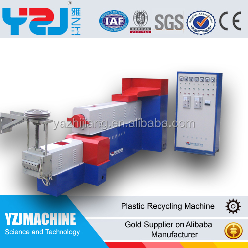 Wind cooling hot cutting PE film waste plastic film recycling machine manufacturer