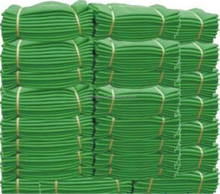 Round Wire Woven Construction Safety Net Playground HDPE Net Fencing Mesh Net