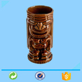 Xiamen 12OZ Custom Wholesale Stock Ceramic Tiki Mug