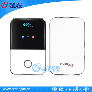 2016 new high speed 4G mobile hotspot router