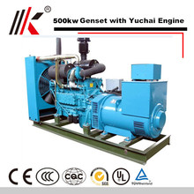 YUCHAI YC6T 500KW DIESEL GENERATION WITH 625KVA ELECTRONIC GOVERNOR DYNAMO GENERATOR SET