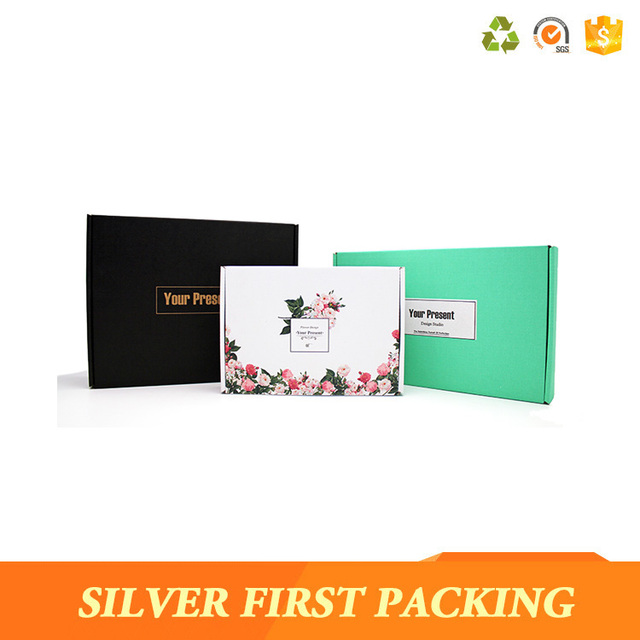 Cheapest corrugated box accept custom logo packaging shipping box