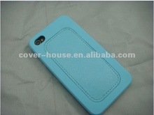 New Arrival silicone/PU Leather case for iPhone4 4S