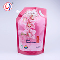 Non-toxic Liquid Storage Spouted Pouch Stand Up Custom Mylar Bags With Logo