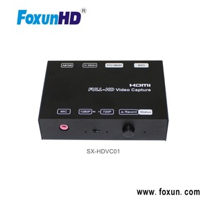 FOXUN SX-HDVC01 Popular Full HD 1080P Video Game Capture 1080P H.264 encoder