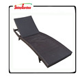 Hot Sale High Quality Pool Sun Lounger Chair Leisure Rattan Sunbed