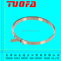 high quality 0.7mm thickness stainless steel banding strap packed by plastic cover in carton boxes