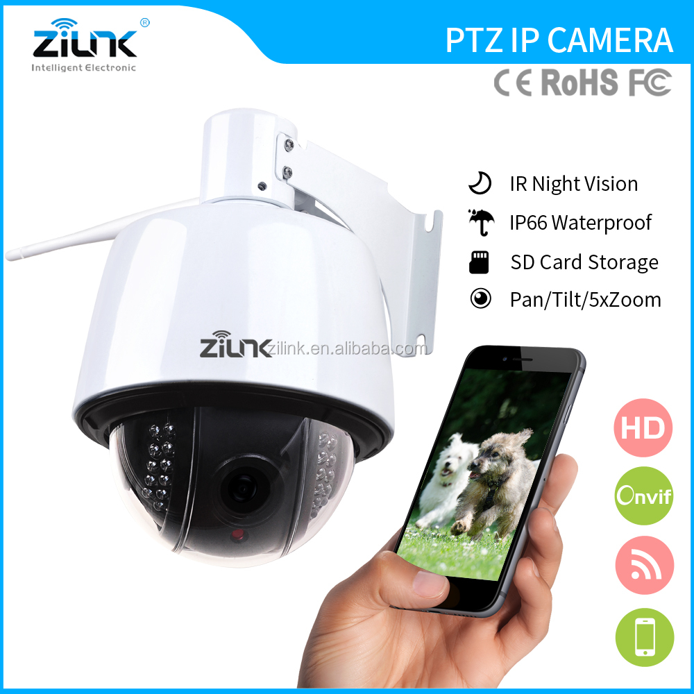 ZILINK New CamHI Product 960P Two way audio ONVIF IR Night Vision Speaker CCTV Camera