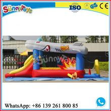 Cheap trampolines for kids/bouncy castles inflatables china commercial inflatabl small witch fire truck theme bouncing castle