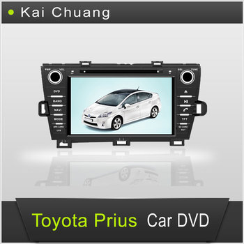 High Quality 2din Car Stereo for Toyota Prius Car DVD GPS