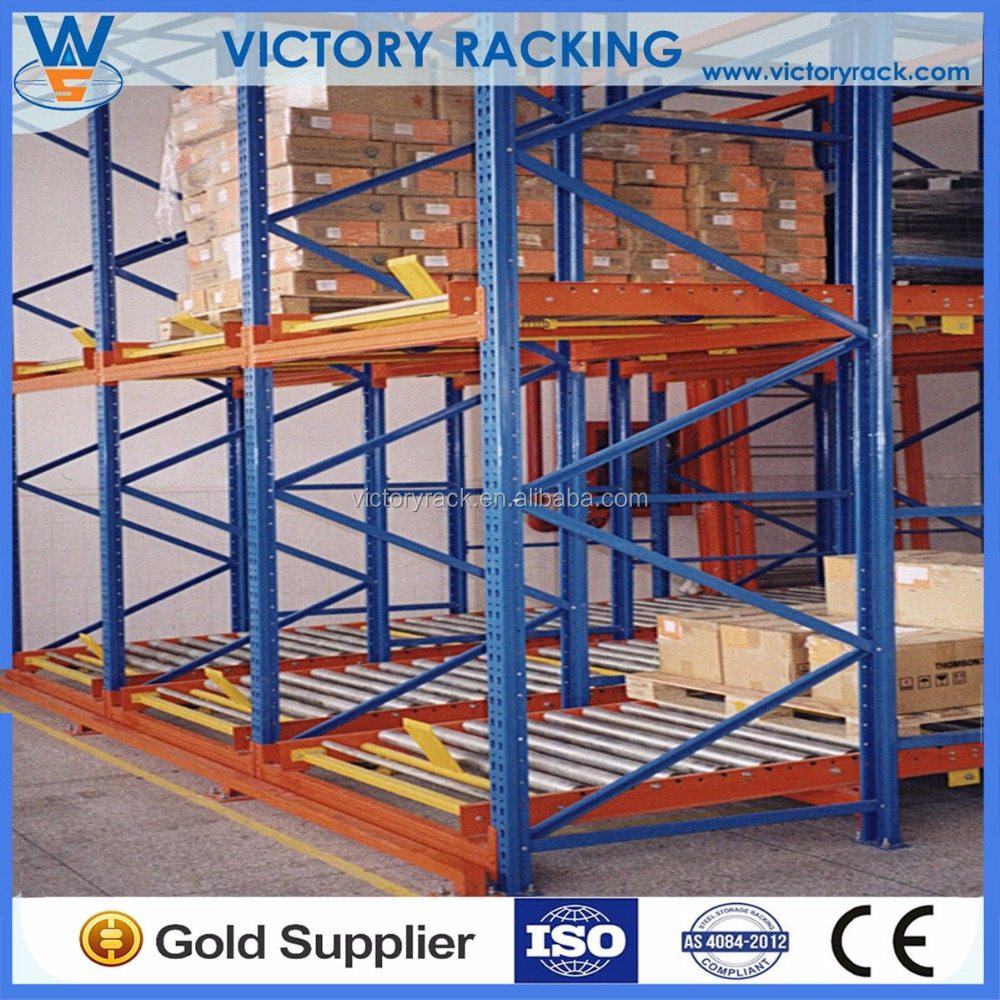 CE ISO Approved Warehouse Logistic Equipment Vertical Gravity Slide Pallet Racking
