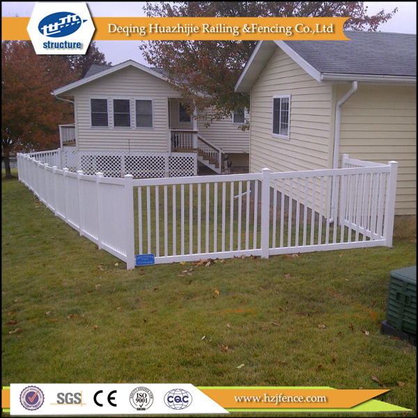 2016 hot sale used pvc plastic pet fence