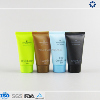 Luxury Hotel Travel Kit Disposable Shampoo And Shower Gel Tube