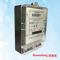 single phase kilowatt hour meter read electricity tamper energy meter price