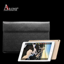 Premium genuine leather pad case fashion business cover for ipad