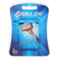 5 blades refill for system razor
