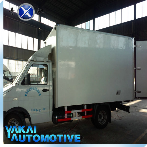 box truck, cargo van 2-4 tons,10 ton refrigerated insulated van box truck